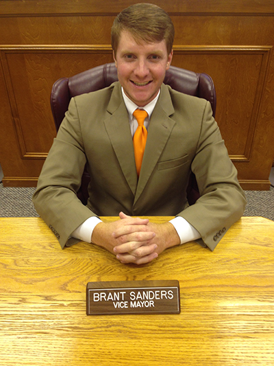 brant sanders, vice mayor