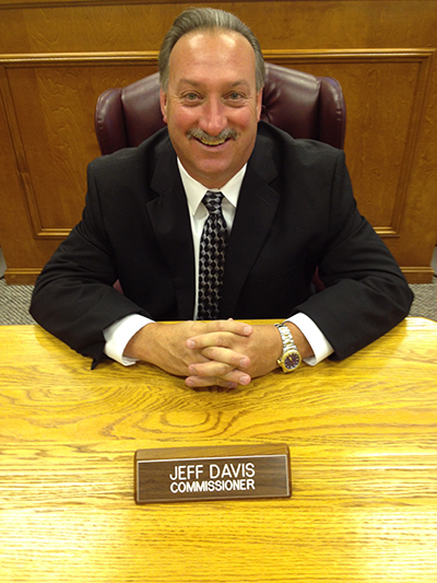 jeff davis, commissioner