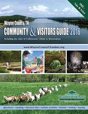 Cover of Wayne County Visitors Guide